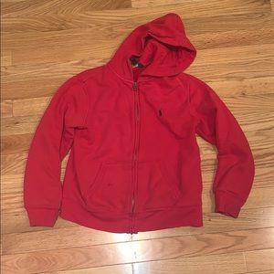 Ralph Lauren Zip Up Hoodie Jacket